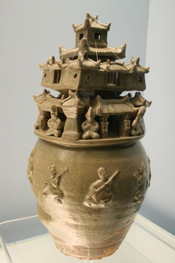 greenware jar, W. Jin, 265-317 AD