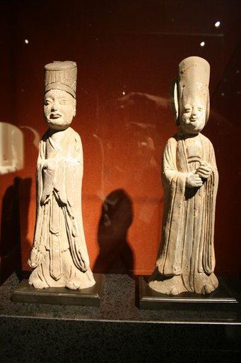 Tượng quan văn và người hầu thời nhà Tần