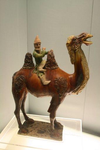 Tượng lạc đà men tam sắc ( tang sancai), triều đại nhà Đường