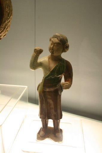 Tượng men tam sắc ( tang sancai), triều đại nhà Đường