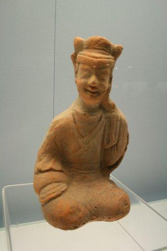 Tượng gốm đỏ, Đông Hán