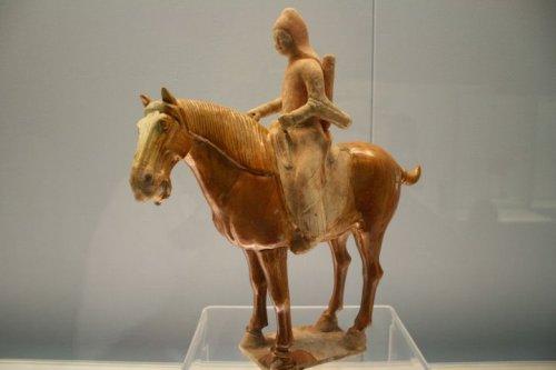 Tang sancai horse & rider