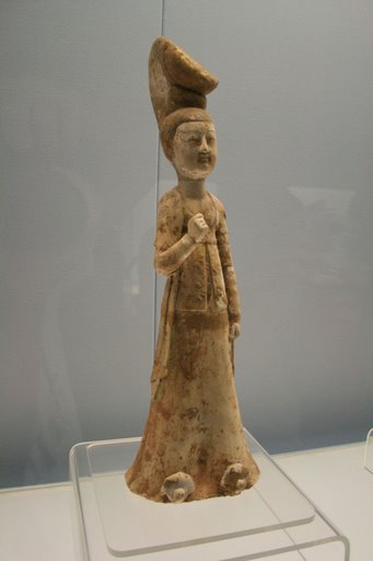 Tang pottery woman