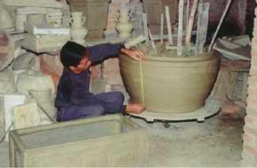 Hoạt động nghề gốm Thổ Hà - ảnh chụp 2008