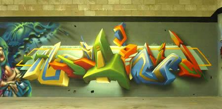 10. Ngôn ngữ graffiti trong không gian ảo