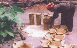 Nghề làm gốm thủ công của người Kmer Nam Bộ