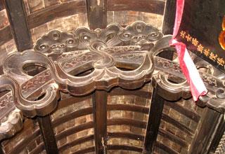 Những dải lụa tiêu biểu của kiến trúc Trung Hoa.