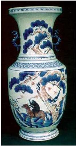 """motif ong và khỉ trên lưng ngựa : """"Mã thượng phong Hầu"""""""