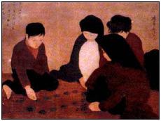 Hiện có bao nhiêu bức 'Chơi ô ăn quan' của Nguyễn Phan Chánh?