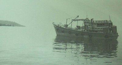 Tàu Bảo Trân tham gia khảo sát tàu đắm ở gần Hòn Thơm và Hòn Dầm năm 2008