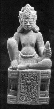 Tượng thần ở Đồng Dương Quảng Nam (thế kỷ X)