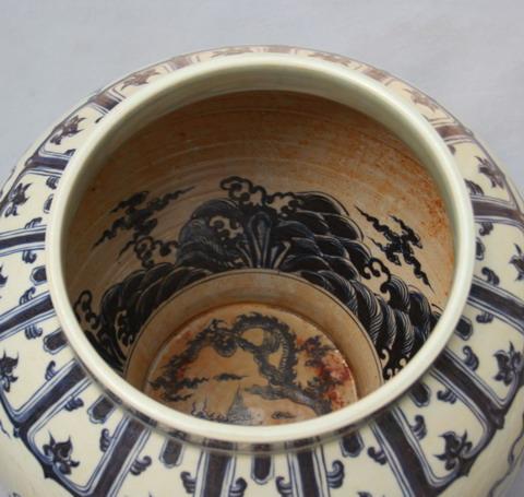 Trang trí vẽ mặt trong vật dụng, thời nhà Minh triều đại Xuande