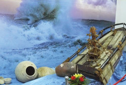 Mô hình tàu chở gốm Việt Nam