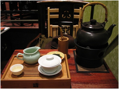Traditional Chinese Tea Service