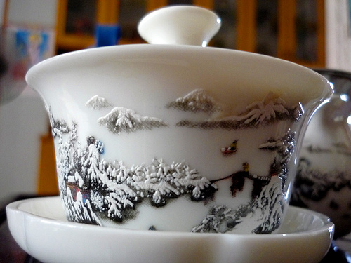 Chung trà ( có nắp)