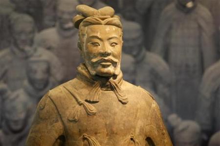 Những bức tượng đất nung mới đầu có thể được sơn màu. Nhưng sau hơn 2.000 năm nằm dưới đất, màu của chúng đã biến mất.