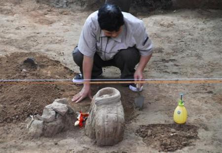 Các nhà khảo cổ học hiện đã khởi động lần khai quật Đội quân đất nung thứ ba.