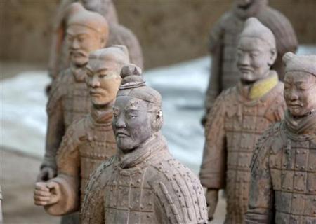 Qua vẻ ngoài, người ta có thể xác định được chiến binh đó là người vùng nào ở Trung Quốc.