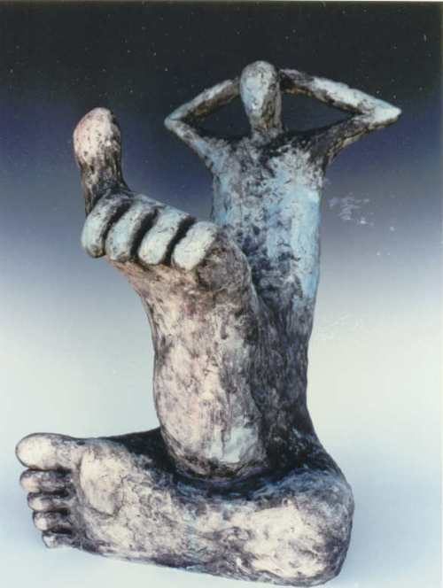 Big tose up (1995) Size: 20 x 13 x 14""