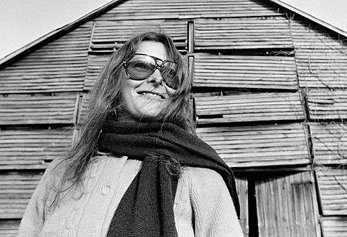 Roxanna Brow, lúc 27 tuổi, trong một chuyến thăm đến Port Tobacco, Maryland năm 1973 -  Nguồn: Latimes,com