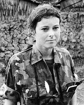 Ảnh Roxanna thời trẻ - Nguồn Latimes