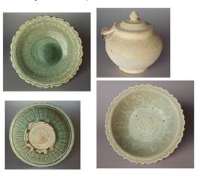 Những mẫu gốm sứ cuối cùng được Roxanna sưu tập - Nguồn: international.ucla.edu