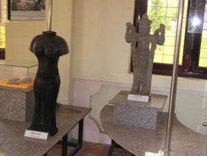 Tượng Óc Eo tìm thấy ở Gò Thành
