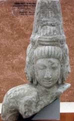 Tượng thần Brahma - niên đại 1500 năm - của BT An Giang