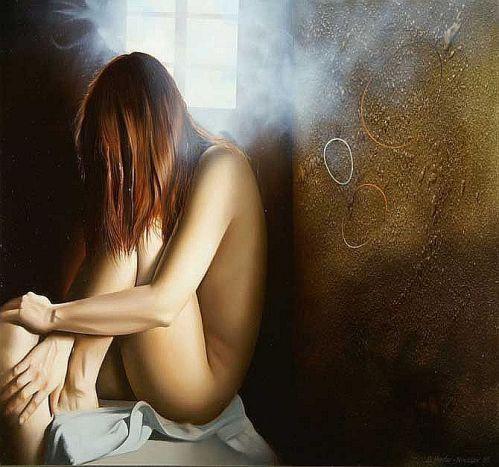 Nude Oil Paintings by Stefan Hadzi-Nikolov Macedonia