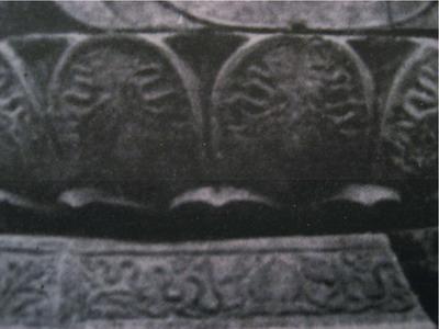 Bệ tượng Tam thế Phật ở chùa Sùng Nghiêm Diên Thánh, Hậu Lộc-Thanh Hoá
