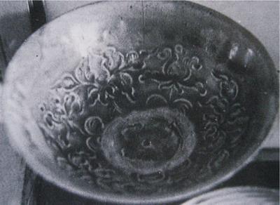 Bát men ngọc có hoạ tiết hoa sen, Bảo tàng lịch sử –Hà Nội
