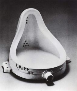 M. Duchamp, Đài phun, 1917/1964