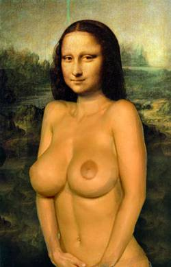 mona Lisa escaped