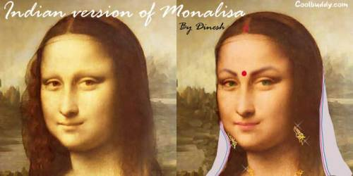Monalisa after one week in India