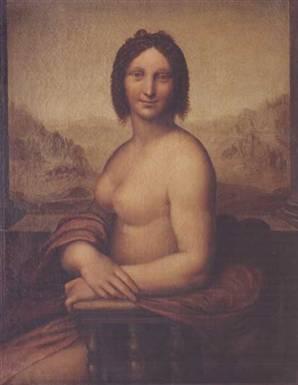 Museo Ideale Leonardo Da Vinc - Bức Monna Vanna