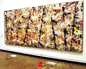 J. Pollock, Những chiếc sào xanh, 1952