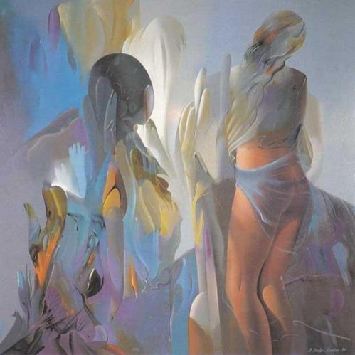 Stefan Hadzi-Nikolov' s nude painting