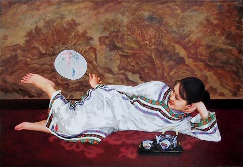"""The Tea"" by Xue Yanqun"