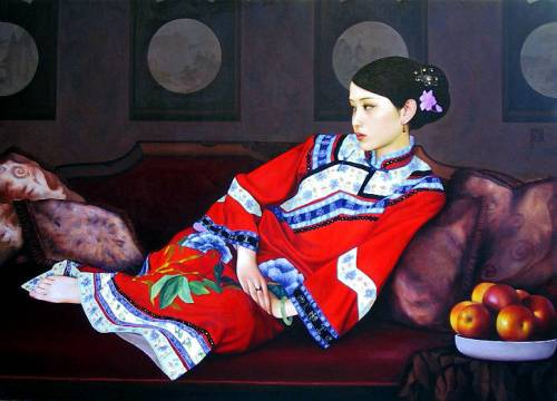 """""""The Red Apple"""" by Xue Yanqun"""