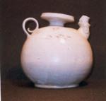 Âm men trăng, đơi Ly - XI - XII Century Ewer with white glaze
