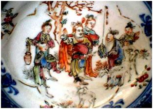 Tô Vũ chăn cừu - tích vẻ trên đĩa sứ TQ