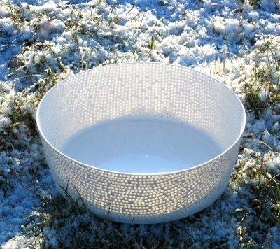 """""""Change"""" unique bowl circa 2008"""